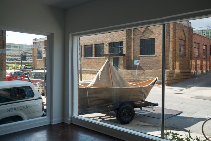 Boat at Front/Space in Kansas City, Missouri